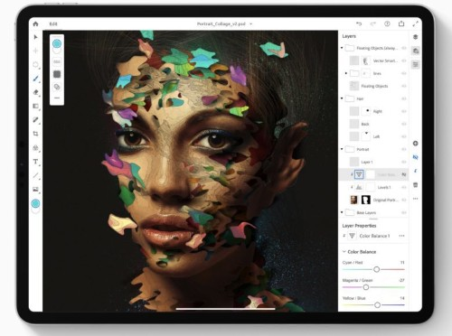 Photoshop for iPad will ship without some key features