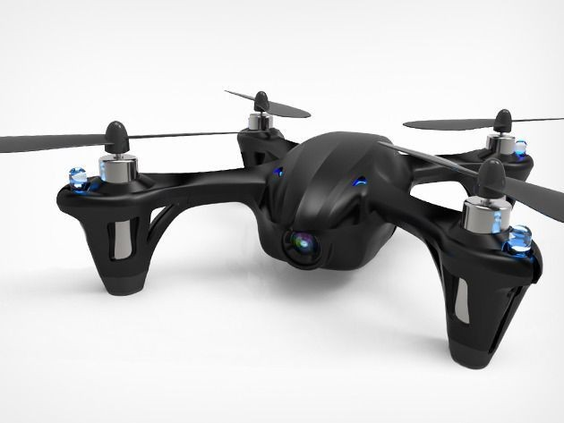 Pre-order exclusive: The Code Black Drone with HD cam, back by popular demand [Deals]