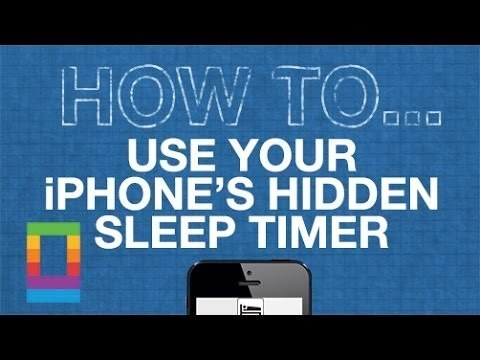 Use your iPhone's hidden sleep timer to fall asleep to music