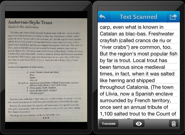Pixter, A Fast, Accurate And Good-Looking OCR App For iPhone