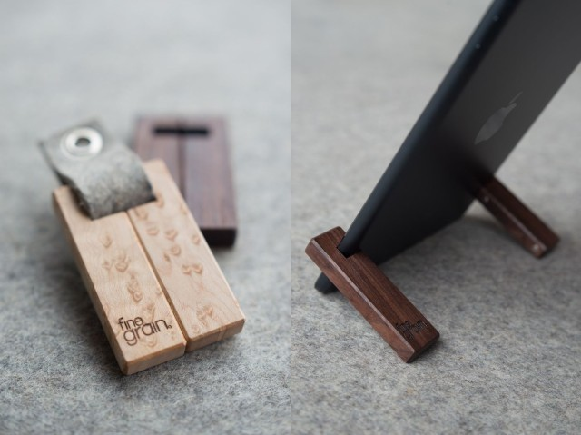 Coburns, Pocket-Friendly Magnetic Hardwood Stands For Any iPad