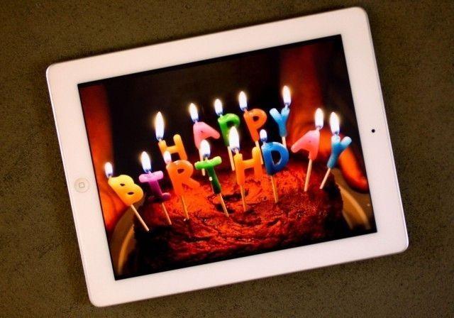 Happy birthday: The iPad turns five today