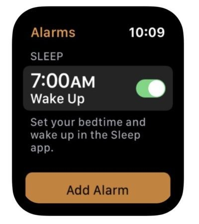 Apple leaks references to new Sleep app for Apple Watch