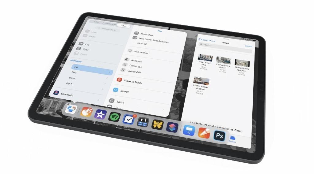 iPadOS concept imagines spectacular 'main menu' for iPad