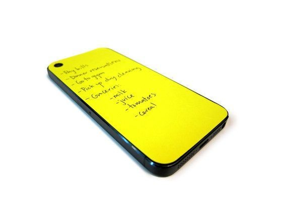 Paperback Turns The Back Of Your iPhone Into A Notebook