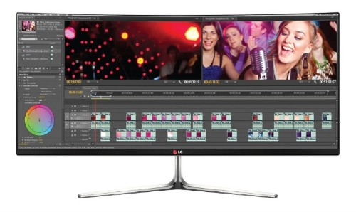 World's first 34-inch, 21:9 curved display delivers truly immersive views