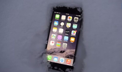 Can your iPhone survive a night in the snow? Yes.