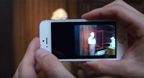 Microsoft app turns iPhone into 3-D scanner