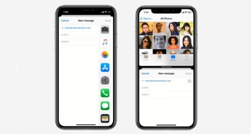 iOS 14 concept brings Split View to iPhone