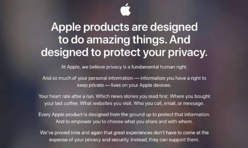 Tim Cook takes aim at the 'shadow economy' of data brokers