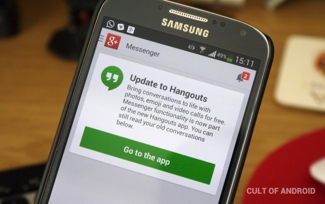 Google+ Messenger Gets The Chop As Focus Turns To Hangouts