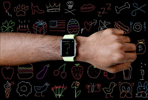 101 things to draw and send with your Apple Watch