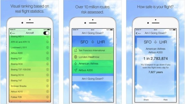 This app will tell you if you're going to die in a plane crash