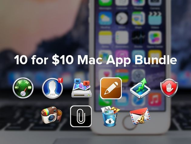 Get 10 amazing and top-rated Mac Apps for only $10! [Deals]