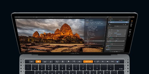 Photo-editing Mac app Luminar adds support for MacBook Pro's new Touch Bar | Cult of Mac