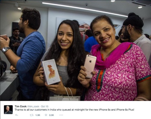 No rush in India to buy the iPhone 6s