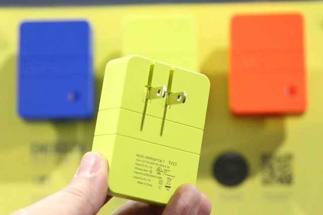 TYLT's Energi Wall-Charger Battery Is The Kind Of Smart Tech We'll Actually Use [CES 2014]
