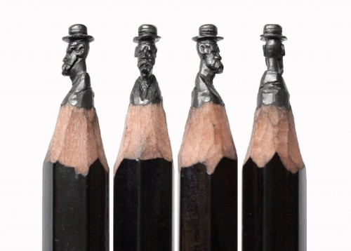 Pencil artist works in miniature — and that's the point
