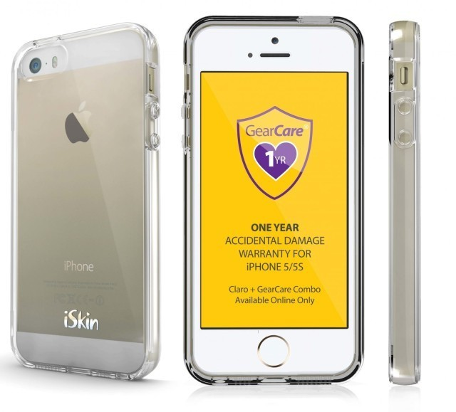 iSkin's Claro GearCare Combo Is An iPhone Case With Accident Insurance