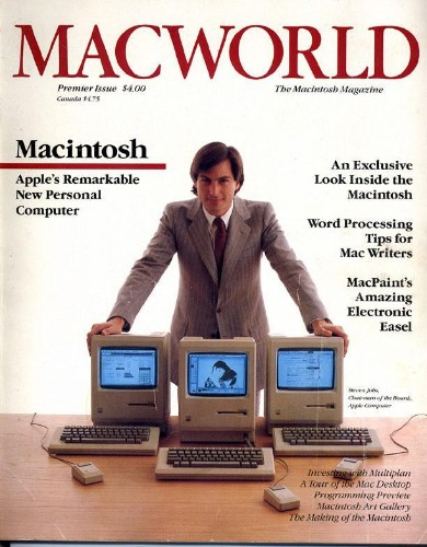 Steve Jobs Poses For 1st Cover of Macworld, Then Changes Mind [Recollections]