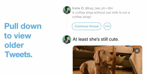 Twitter adds new 'continue thread' button, fixes notification bug on Mac