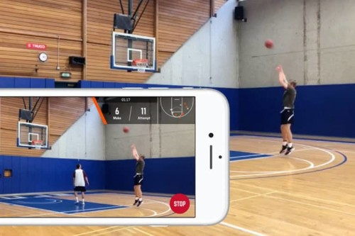 Hot new basketball app uses AI to improve your shooting