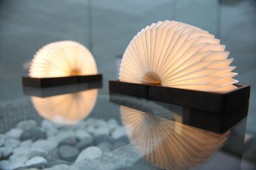 Finally! A mood lamp that looks like a Slinky
