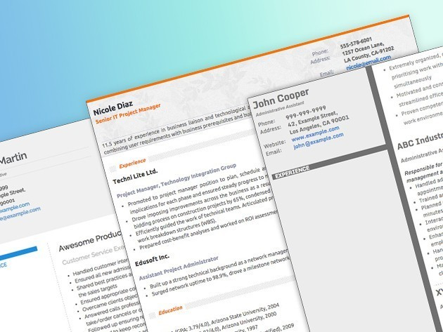 Make putting your resume together a lot less painful with this app [Deals]