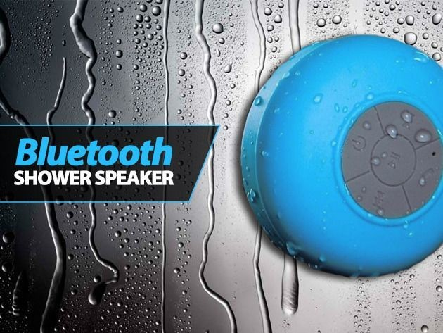 Sing Your Heart Out With The Bluetooth Shower Speaker [Deals]
