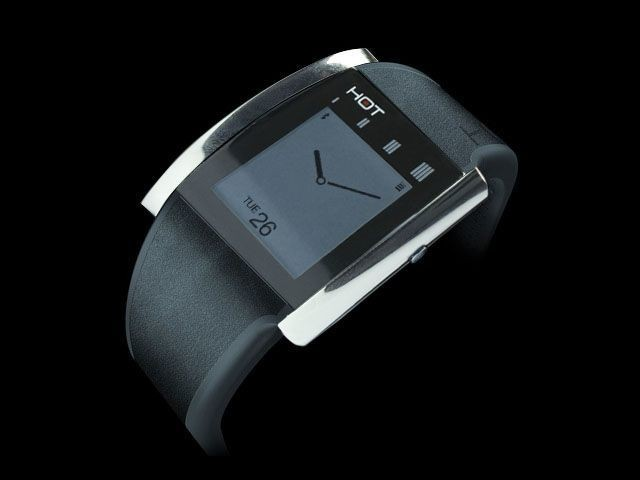 The HOT Watch Smartwatch's Unique Trick Turns Your Own Hand Into The Handset [Kickstarter]