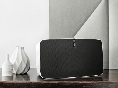 As you tune the music, SONOS speaker tunes the room
