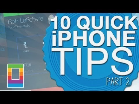 Sunday Tips: 10 Quick iPhone Tips, Part 2