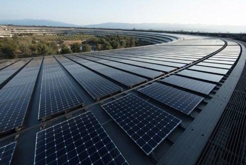 Apple teams with soy sauce company to build rooftop solar panels