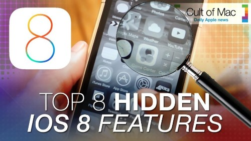 Uncovering 8 mysterious new iOS 8 features