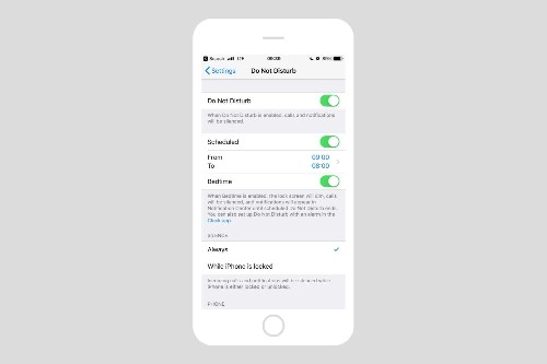 Why you should use iOS 12's Do Not Disturb at Bedtime all day long
