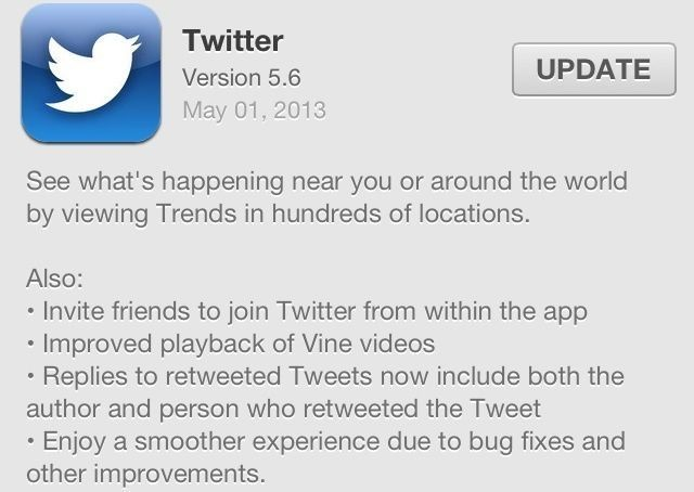 Twitter Updates iOS App To Include Location-Based Trends And Better Vine Playback