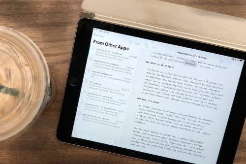 Stay focused on writing with iA Writer [50 Essential iOS Apps #27]