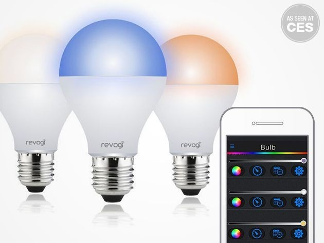 Set the mood from your iPhone with the Revogi Bluetooth Smart Lightbulb [Deals]