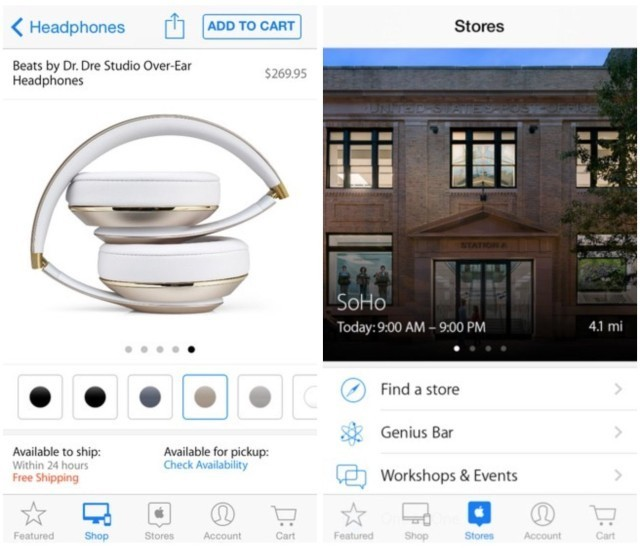 Apple Store app now syncs your shopping sprees across devices