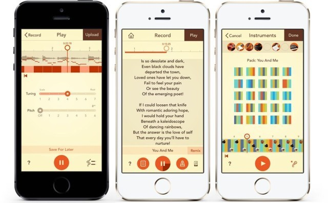 Write And Record A Song Right On Your iPhone With Tunedra