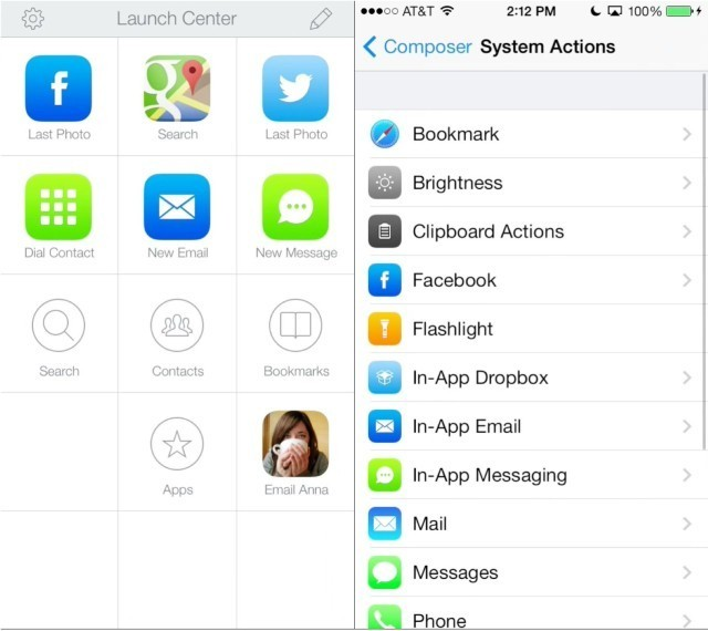 Launch Center Pro 2.0 For iPhone Arrives With iOS 7 Redesign