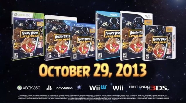 'Angry Birds Star Wars' Will Fly Onto Gaming Consoles October 29th