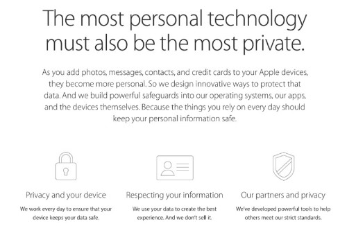Apple reveals just how seriously it takes your privacy
