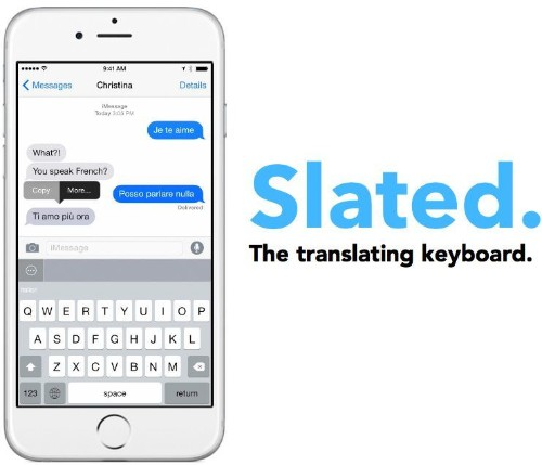 This iOS 8 keyboard translates your texts into other languages as you type