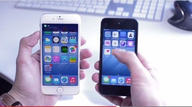 This video shows what the iPhone 6 running iOS 8 will look like