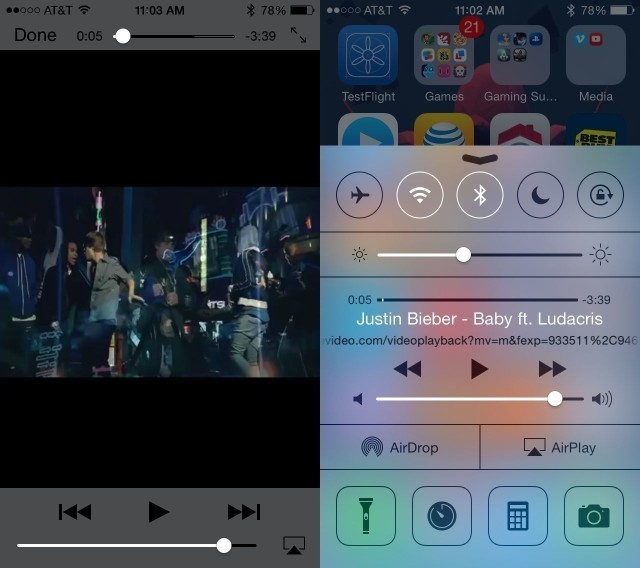Play YouTube Audio In The Background With iOS 7.1 [iOS Tips]