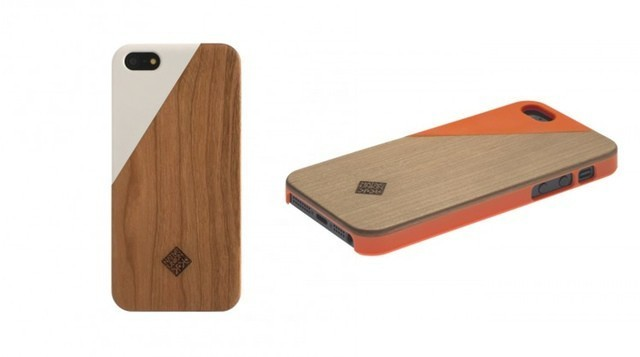 Another Wooden iPhone 5 Case, This Time With Cool Color Accents