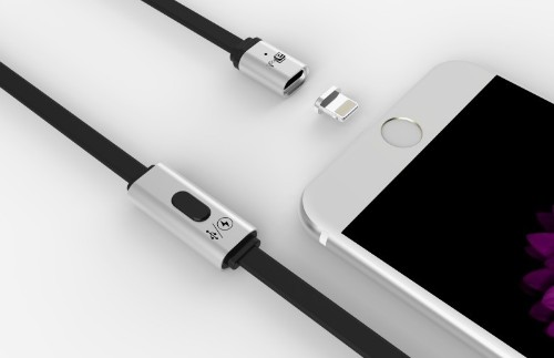 You can't help but be attracted to this magnetic Lightning cable