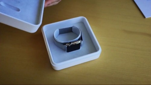 What it's like to unbox an Apple Watch