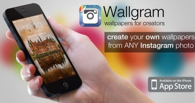 Wallgram Turns Instagram Photos Into iPhone Wallpapers
